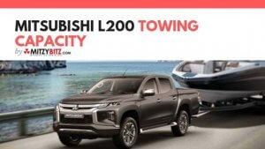 Mitsubishi L200 Towing Capacity